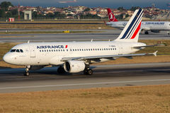 F-GRHU Air France, Airbus A319-111 Stock Photo
