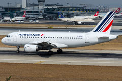 F-GRXC Air France, Airbus A319-111 Royalty Free Stock Photography