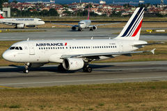 F-GRXE Air France , Airbus A319-111 Royalty Free Stock Photography