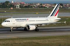 F-GRXF Air France, flygbuss A319-111 Royaltyfri Fotografi