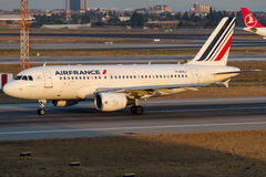 F-GRXJ Air France, Airbus A319-111 Imagens de Stock Royalty Free