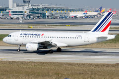 F-GRXJ Air France, Airbus A319-115LR Fotos de Stock