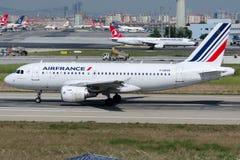 F-GRXK Air France, flygbuss A319-115 Royaltyfri Foto