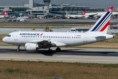 F-GRXM Air France, flygbuss A319-112 Arkivfoto