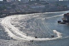F1H2O-värld Campionship Porto 2015 Portugal arkivfoton