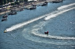 F1H2O World Campionship 2015 Porto Portugal Stock Photography