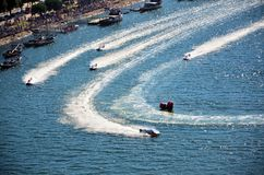 F1H2O World Campionship 2015 Porto Portugal Royalty Free Stock Photo