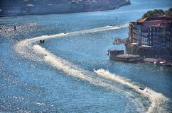 F1H2O World Campionship 2015 Porto Portugal Royalty Free Stock Photos
