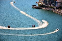 F1H2O World Campionship 2015 Porto Portugal Stock Photos