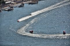 F1H2O World Campionship 2015 Porto Portugal Royalty Free Stock Images