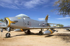 F-86H Sabre Royalty Free Stock Images