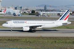 F-HBNL Air France Aerobus A320-214 Obraz Royalty Free