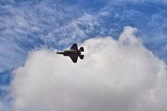 F-35 heimelijkheidsvechter bij airshow Stock Afbeeldingen