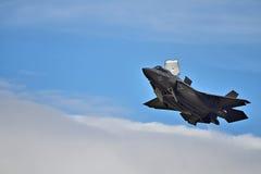 F-35 heimelijkheidsvechter op vertoning Royalty-vrije Stock Foto