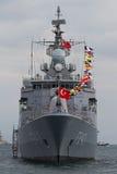 F-243 het fregat van TCG Yildirim Stock Fotografie