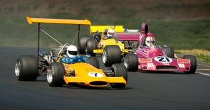 F5000 het Rennen Actie Stock Fotografie