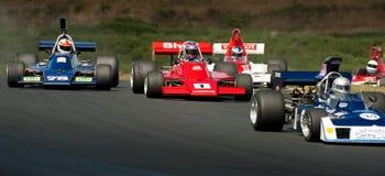 F5000 het Rennen Actie Royalty-vrije Stock Afbeelding