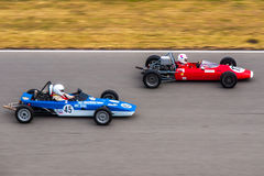 F3 historic racing cars Royalty Free Stock Image