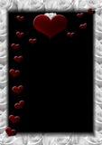 f-hjärtor Royaltyfri Fotografi