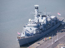 F237 HMS westminster Royalty Free Stock Photos