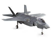 F35 hoekige stakingsvliegtuigen stock illustratie