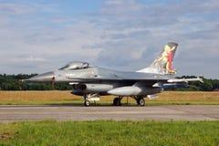 F-16 holandés Imágenes de archivo libres de regalías