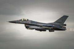 F-16 holandês Foto de Stock