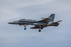 F-18 Hornet Fighter Jet Stock Image