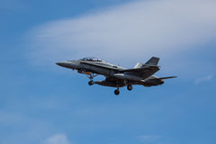F-18 Hornet Fighter Jet Royalty Free Stock Photos