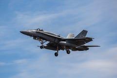 F-18 Hornet Fighter Jet Stock Images