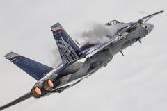 F/A 18 Hornet stock photo