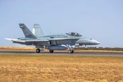 F/A-18A horzel royalty-vrije stock fotografie