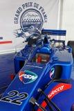 F1 i utställning Royaltyfria Foton