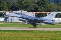 F-16 jastrząbek Obraz Royalty Free