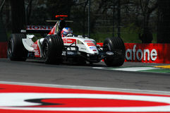 F1 2005 - Jenson Button. Honda during GP of Imola Year 2005 Royalty Free Stock Photo