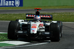 F1 2005 - Jenson Button. Honda during GP of Imola Year 2005 Stock Photos