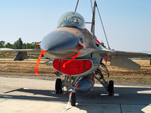 F-16 jet fighter plane Royalty Free Stock Photos