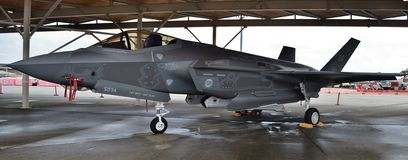 F-35 Joint Strike Fighter Royalty Free Stock Photo