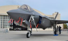 F-35 Joint Strike Fighter Royalty Free Stock Photos