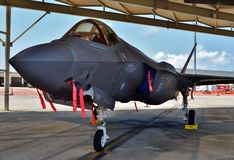 F-35 Joint Strike Fighter Lightning II Stock Photo