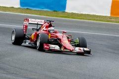 F1: Kimi Raikkonen, Феррари Стоковое Изображение