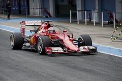 F1: Kimi Raikkonen, Феррари Стоковая Фотография RF