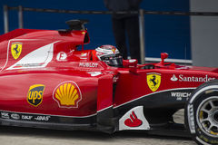 F1: Kimi Raikkonen, Феррари Стоковые Фото