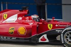 F1: Kimi Raikkonen, Ferrari Στοκ Φωτογραφίες