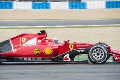 F1: Kimi Raikkonen, Ferrari Zdjęcie Stock