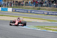 F1: Kimi  Raikkonen, Ferrari Royalty Free Stock Image