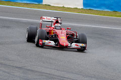 F1: Kimi  Raikkonen, Ferrari Royalty Free Stock Photos