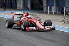 F1: Kimi  Raikkonen, Ferrari Royalty Free Stock Photography
