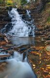 F.L. Ricketts Falls, Ricketts Glen State Park Stock Images