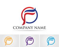 F Letter  icon. Illustration design alphabet arrow aviation brand branding business company compass concept corporation fast faster finance global globe growth stock illustration